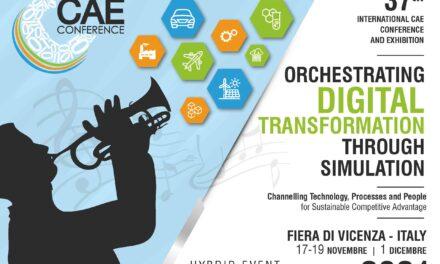 LA TRASFORMAZIONE DIGITALE DELL'INDUSTRIA ITALIANA. A VICENZA PER L'INTERNATIONAL CAE CONFERENCE AND EXHIBITION